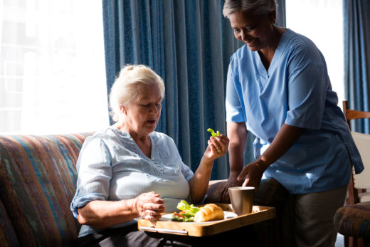 How Nutrition Plays a Role in Elderly Recovery